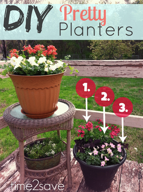 diy flower planters how to choose arrange flowers for