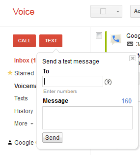 google-voice-text