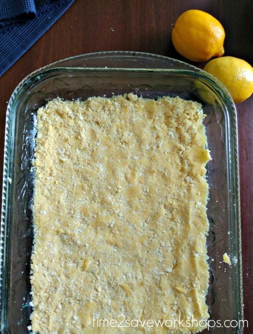 lemon bars crust