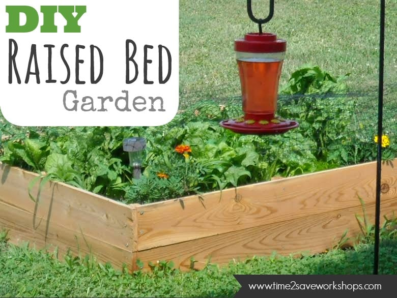 Vegetable Garden Raised Bed Tutorial (+ Crazy Good Deal on Amazon ...
