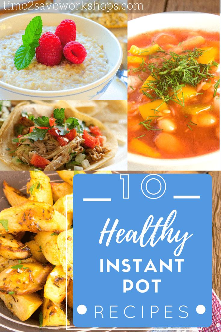 Healthy Instant Pot Recipes Kasey Trenum