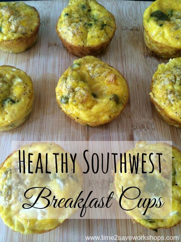healthy southwest breakfast cups