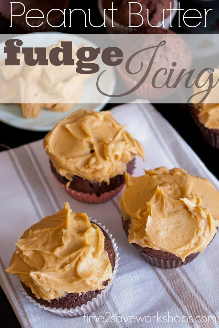 peanut butter fudge icing