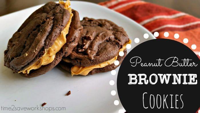peanutbutterbrowniecookies