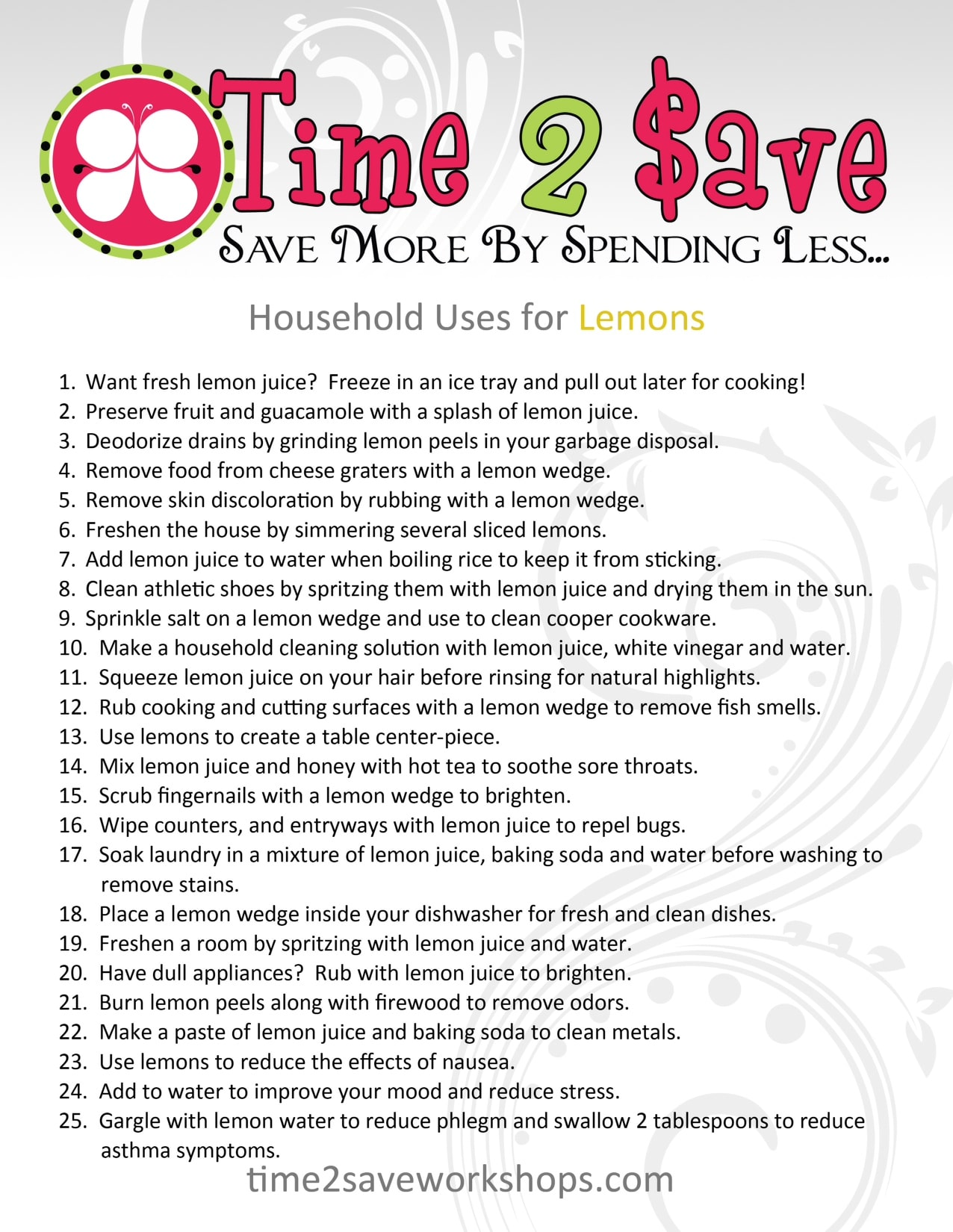 uses-for-lemons