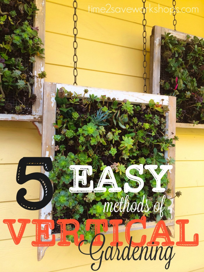 vertical gardening methods