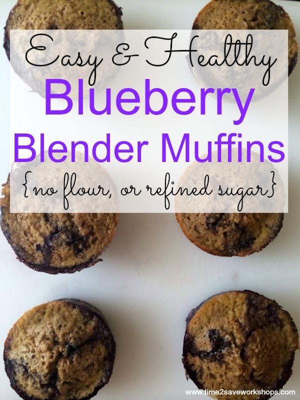 Blueberryblendermuffins