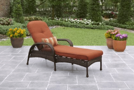 New The next lowest price on a wicker chaise lounge we could find is this Better Homes u Gardens Azalea Ridge wicker chaise at Walmart that us on rollback for