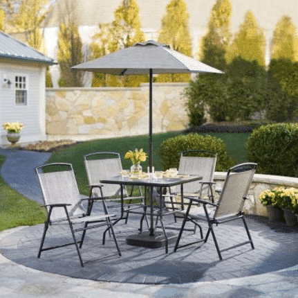 Home Depot Piece Patio Set Only Kasey Trenum