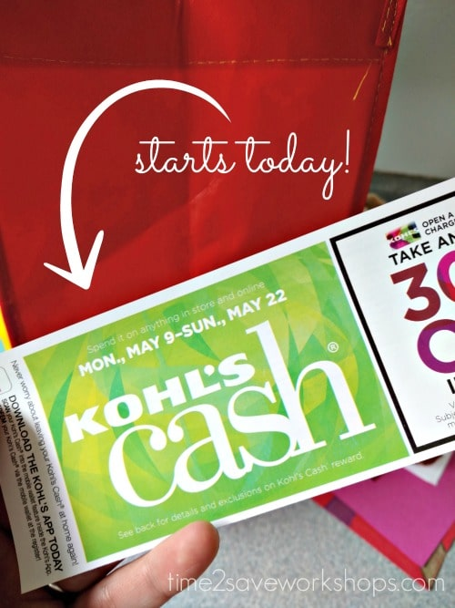 kohls cash spending period