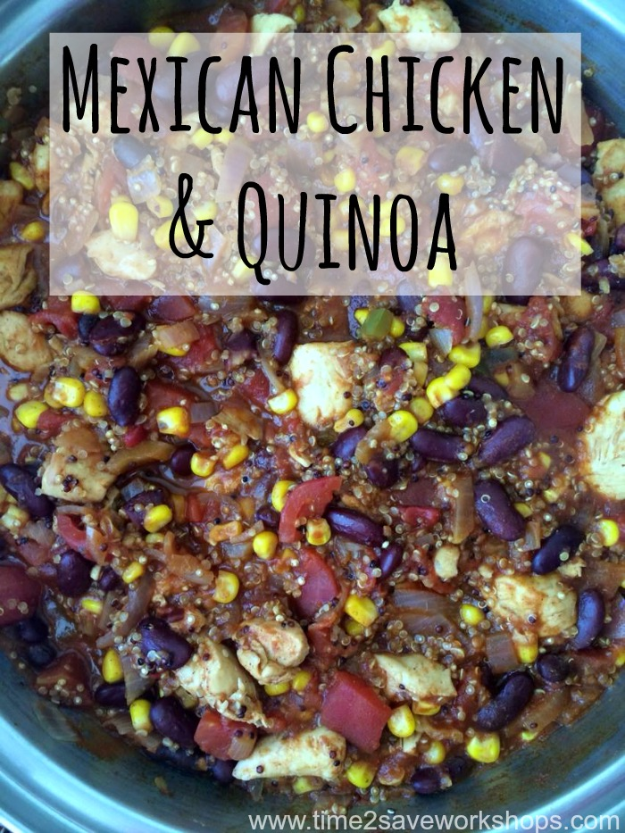 mexican chicken & quinoa 5