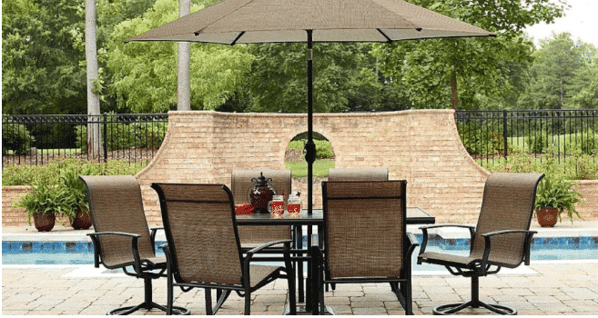 Right Now At Sears, Get A Great Deal On This Patio Dining Set!