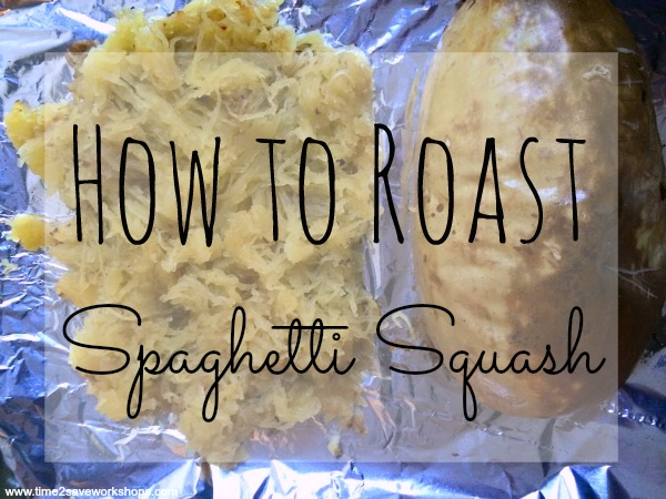 How to Roast Spaghetti Squash is a mystery no more!  Check out this great tutorial for how to roast a spaghetti squash for delicious low carb meals!