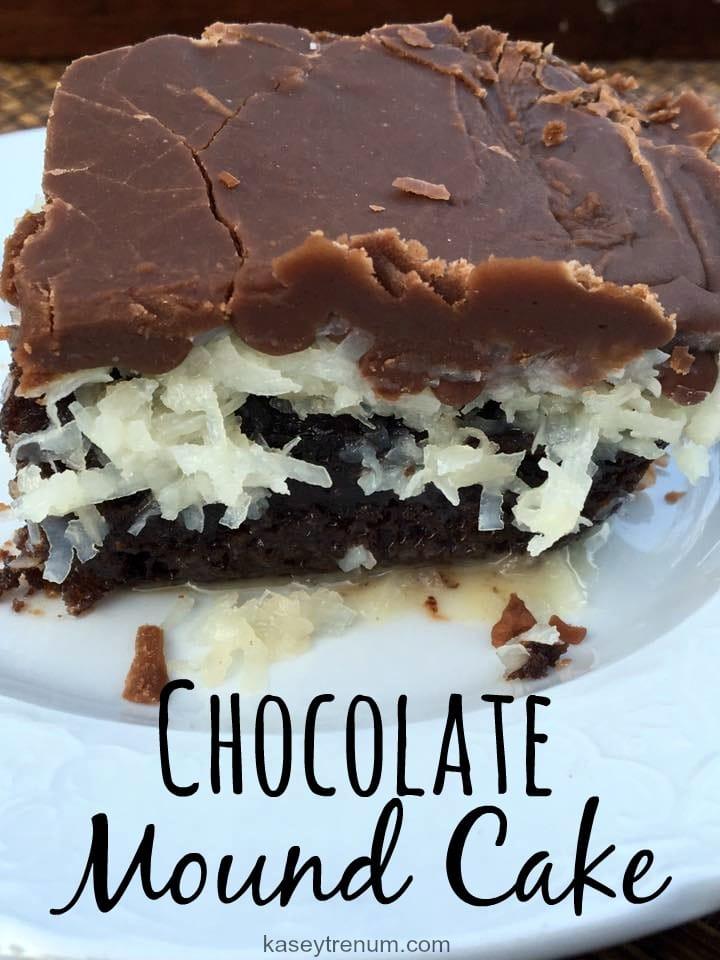 Chocolate Mound Cake 2