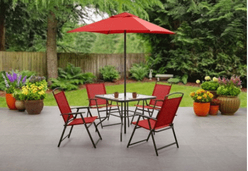 right now at walmart you can outfit your patio or deck with a new table chairs set for as low as 79 - Walmart Patio Set