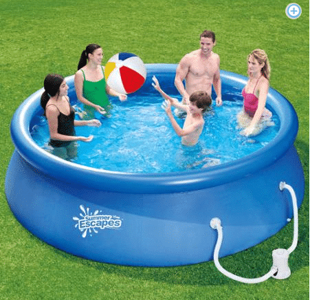 Summer Waves 10 x 30 Swimming Pool only $59! - Kasey Trenum