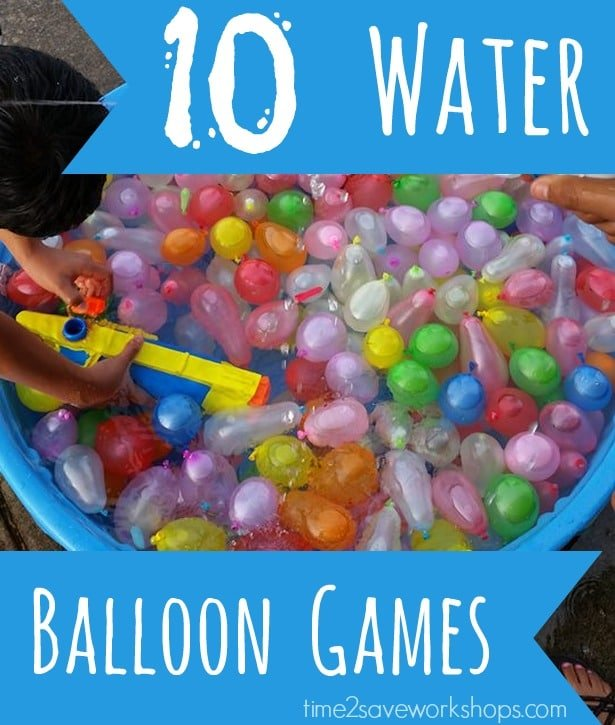 10 Water Balloon Games (For Kids, Teens & Youth Groups