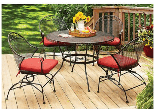 Patio furniture clearance deals kasey trenum for Garden furniture deals