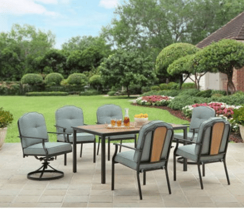Patio furniture clearance deals kasey trenum for Best deals on patio furniture sets