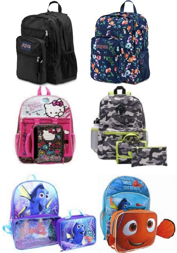 Backpack Deals at Kohl's | Backpack+Lunchbox Sets under $10, JanSport for $36!