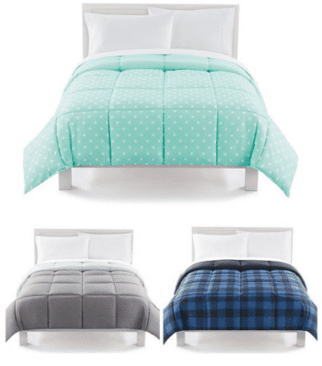 Kohl's | Reversible Down Alternative Comforter from $22.40 Shipped (Reg $80)