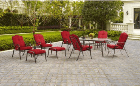 Mainstay Patio Furniture Clearance Buy Mainstays Oakmont 7 Patio Dining Set Patio Mainstay