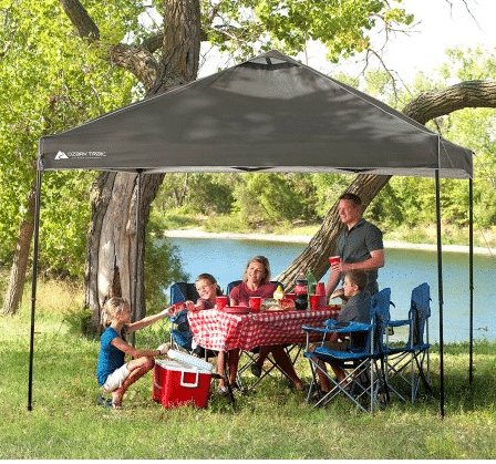 OR pick up just the Ozark Trail 10×10 Instant Canopy for only $39.88! (Reg $99) & Ozark Trail 12x12 Canopy and 4 Chairs ONLY $64! - Kasey Trenum