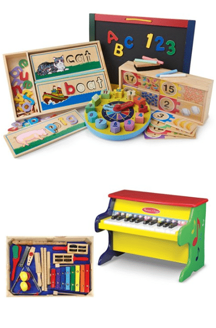 Melissa & Doug Toy Bundle Values