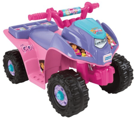 Power Wheels Dora Quad – Lowest EVER!