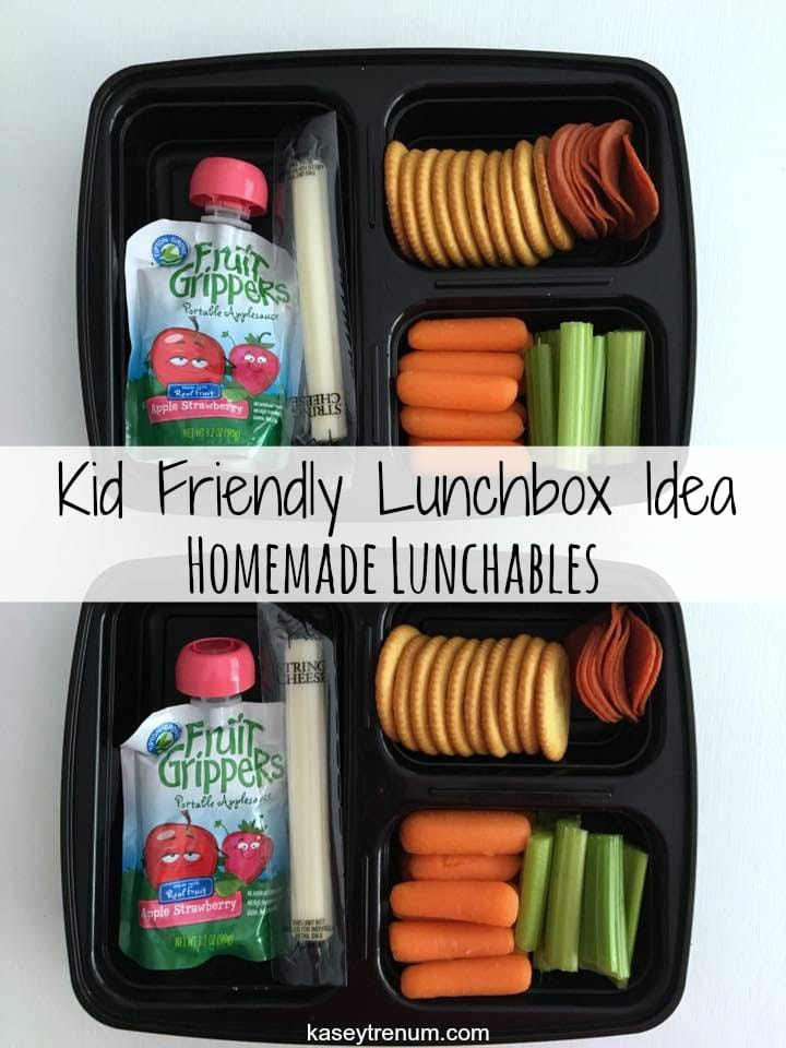 Kid Friendly Lunchbox Idea: Homemade Lunchables