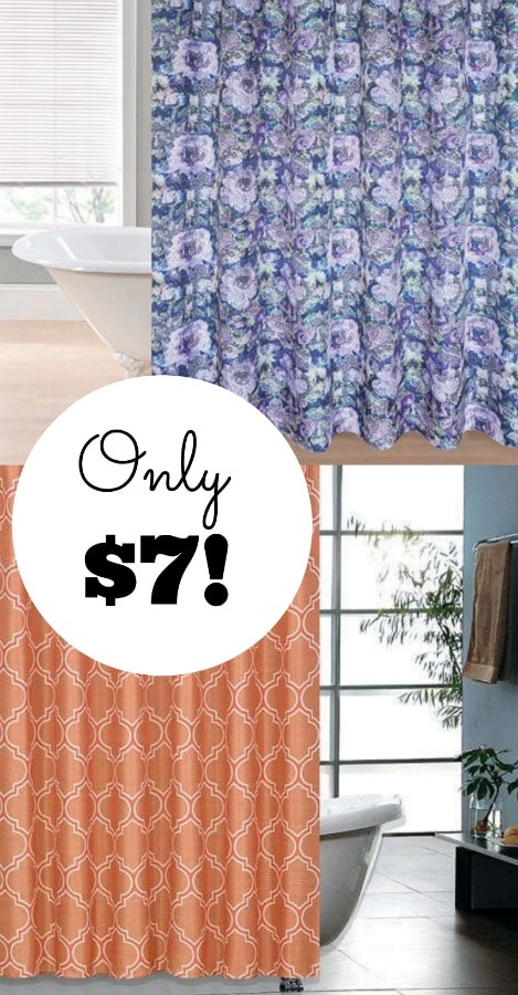 Kohl's Shower Curtain ONLY $7!!