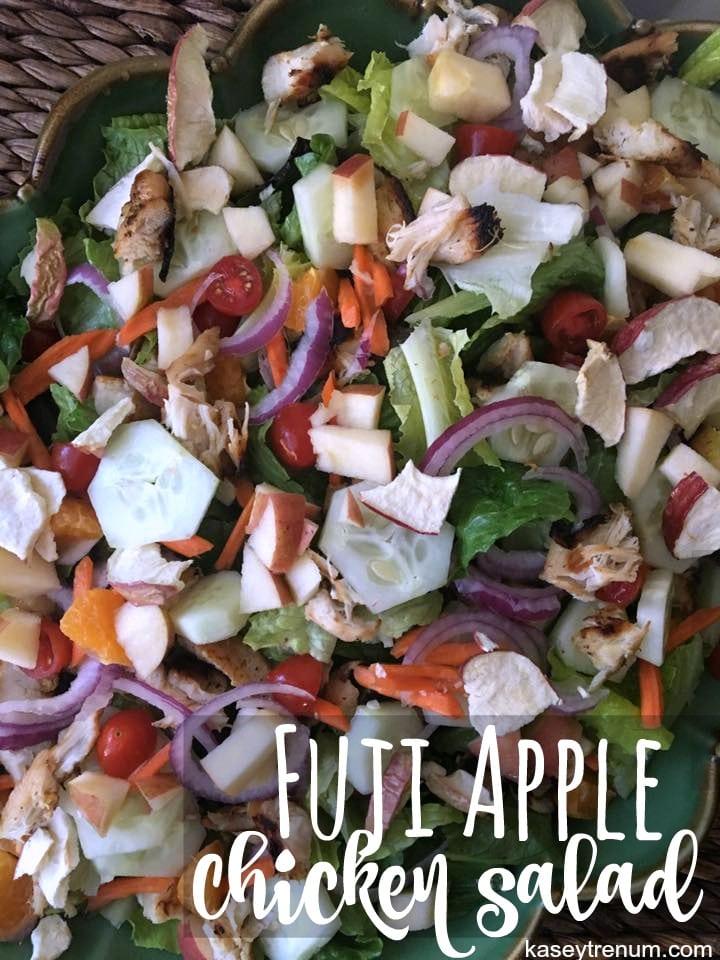 Fuji Apple Chicken Salad {Easy & Healthy}