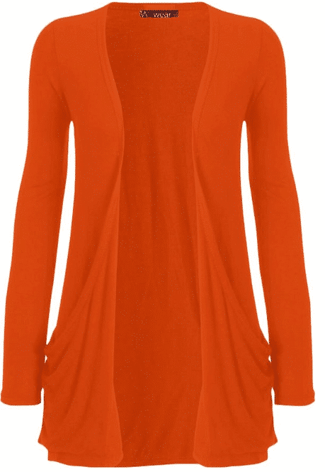 Ladies Boyfriend Cardigan in TONS of Colors (Vols Orange!) - Kasey ...