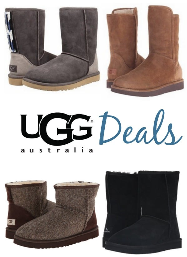 If you're looking for some UGG Boot Deals, I just spotted some REALLY good discounts over at 6pm.com!
