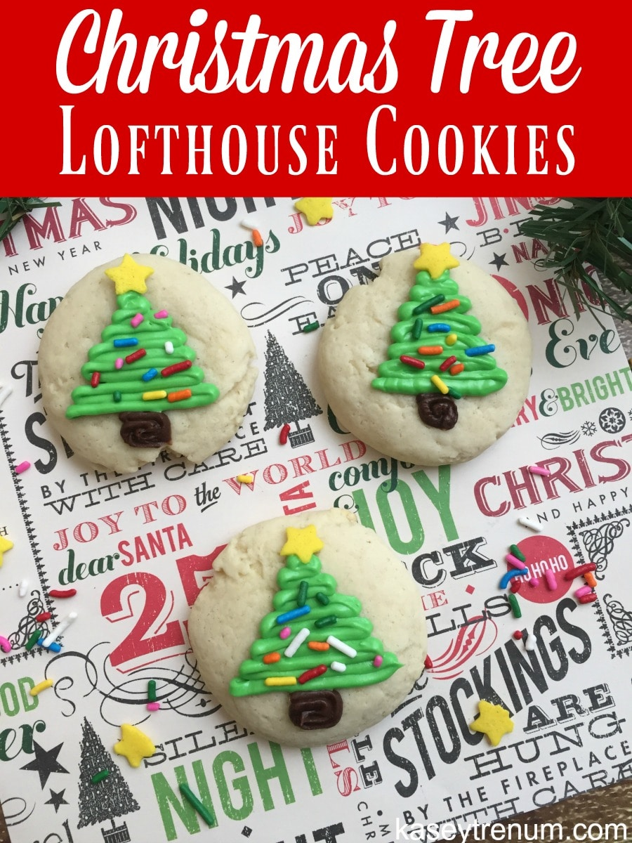 Christmas Tree Lofthouse Cookies