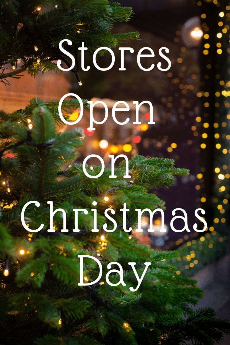 Christmas Day 2018: List of Stores Open