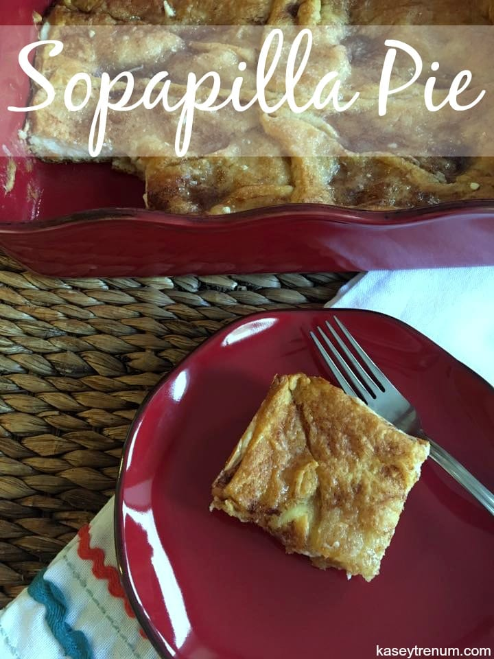 Easy Dessert Recipe: Sopapilla Pie {Perfect for New Year's Eve}