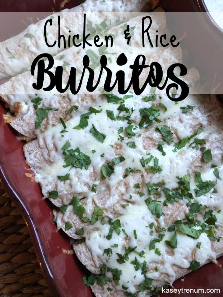 Chicken & Rice Burritos