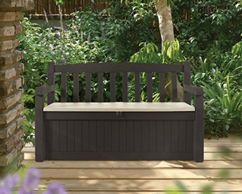 & Keter 70 Gallon Outdoor Storage Bench - Price Drop! | Kasey Trenum