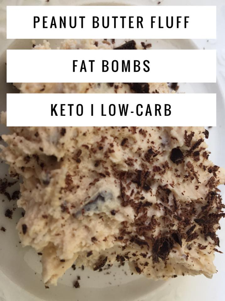Peanut Butter Fluff Fat Bombs I Low Carb & Keto Friendly