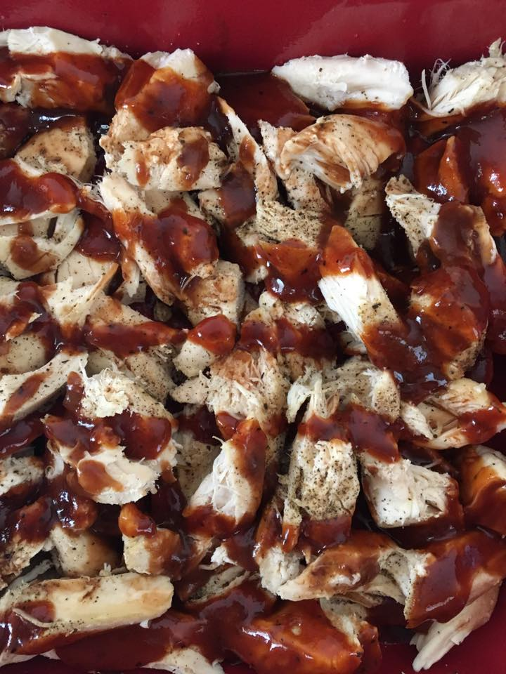 Bbq Chicken With Bacon Amp Cheese Low Carb Keto Friendly Kasey Trenum