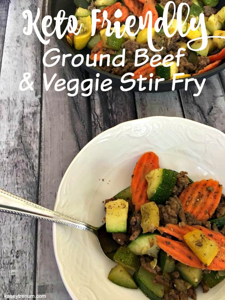 Keto Friendly: Beef & Veggie Stir Fry