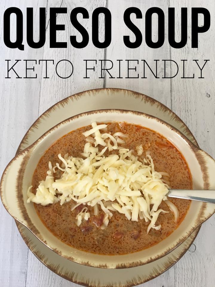 Queso Soup {Keto Friendly & Low Carb}