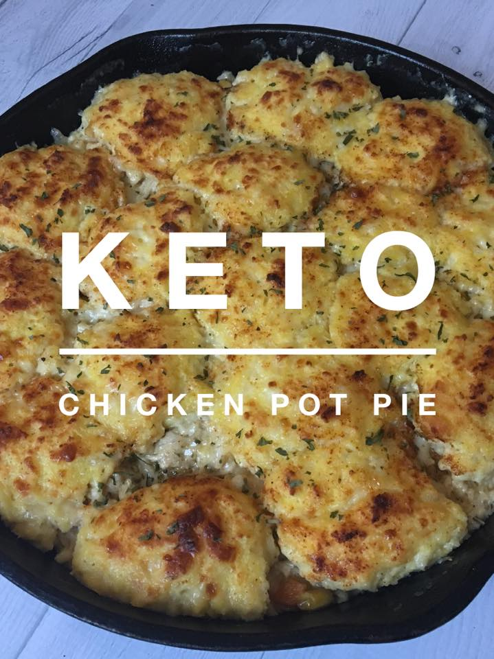 Keto Chicken Pot Pie