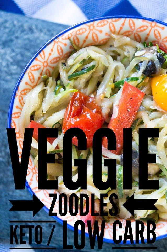 Veggie Zoodles {keto / low carb}