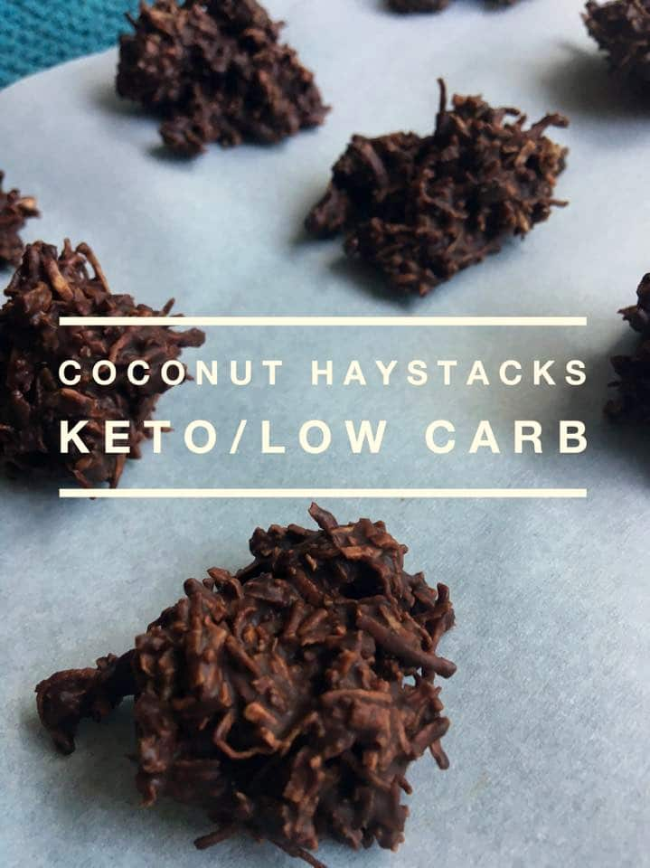 Coconut Haystacks (Keto /Low Carb)