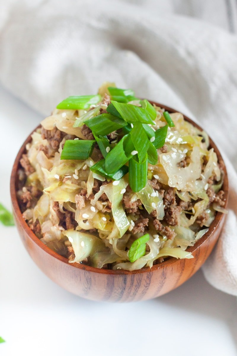 easy, fast low carb keto Chinese food dinner