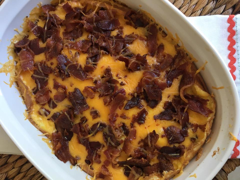 Bacon Egg Amp Cheese Biscuit Casserole Keto Low Carb