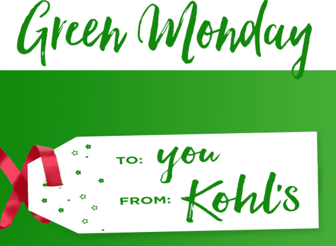 kohlsgreenmonday
