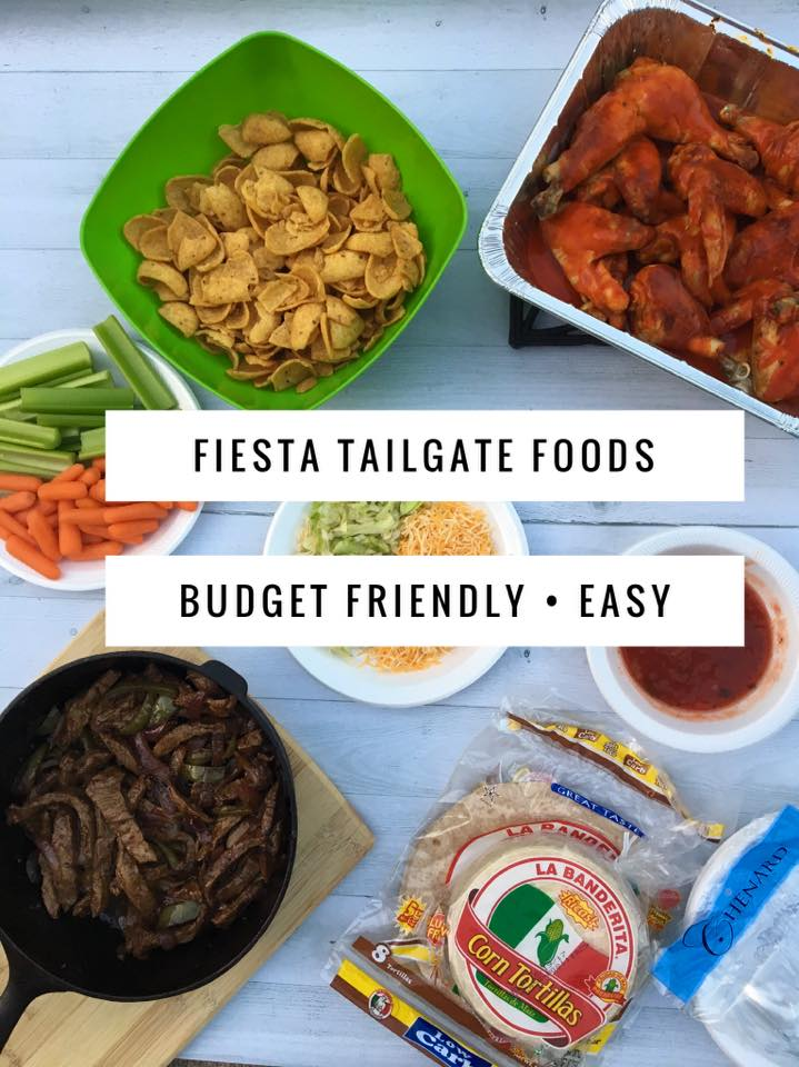 Fiesta Tailgate Foods